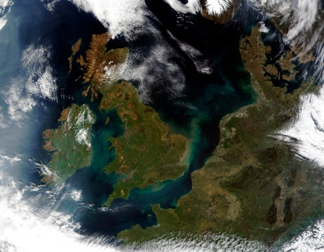 "Belgium「""United Kingdom, Ireland, and Northwest Europe, satellite image""」:スマホ壁紙(4)"
