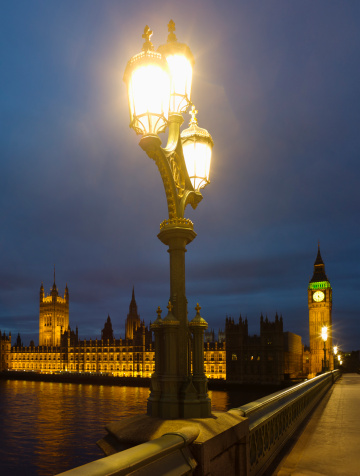 19th Century「United Kingdom, London, Houses Of Parliament at night」:スマホ壁紙(8)