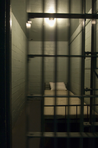 Prison Bars「Empty prison cell」:スマホ壁紙(16)