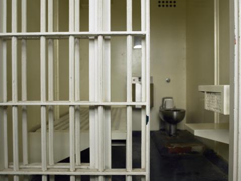 Prison Bars「Empty prison cell」:スマホ壁紙(15)