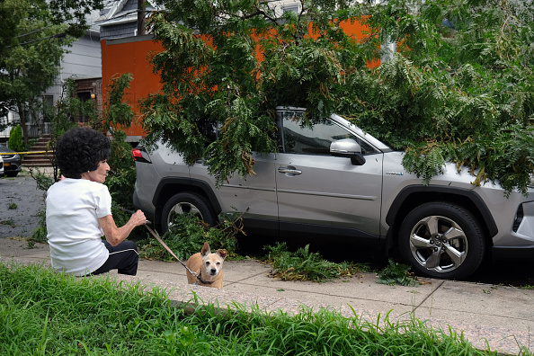 Torrential Rain「Tropical Storm Isaias Hits New York City Bringing Heavy Wind And Rain」:写真・画像(9)[壁紙.com]