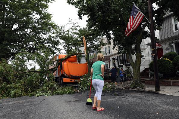 Hurricane - Storm「Tropical Storm Isaias Hits New York City Bringing Heavy Wind And Rain」:写真・画像(18)[壁紙.com]