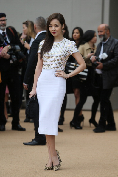 Focus On Foreground「Burberry Prorsum - Red Carpet Arrivals: London Fashion Week SS14」:写真・画像(10)[壁紙.com]