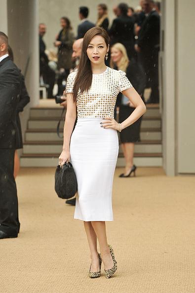 ロンドンファッションウィーク「Burberry Prorsum - Arrivals: London Fashion Week SS14」:写真・画像(14)[壁紙.com]
