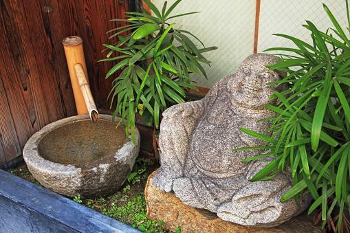 Buddha statue「Washing Vase and Laughing Buddha」:スマホ壁紙(0)