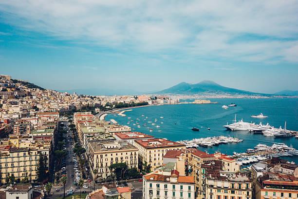 Naples view, Italy:スマホ壁紙(壁紙.com)