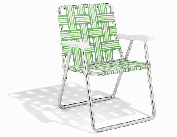 Deck chair, against white background:スマホ壁紙(壁紙.com)