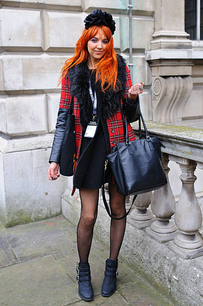 Street Style: Day 1 - London Fashion Week AW14:ニュース(壁紙.com)