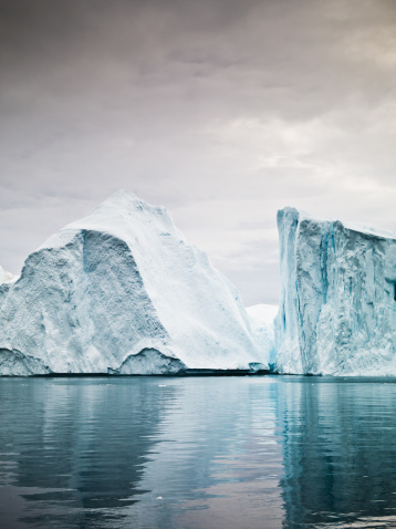 UNESCO「Artic North Pole Icebergs Ilulissat Greenland Fjord」:スマホ壁紙(18)