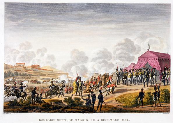 Etching「The Bombardment Of Madrid Spain 4th December 1808」:写真・画像(4)[壁紙.com]