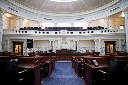 Idaho State Capitol「House of Representatives Chamber Idaho State Capitol」:スマホ壁紙(2)