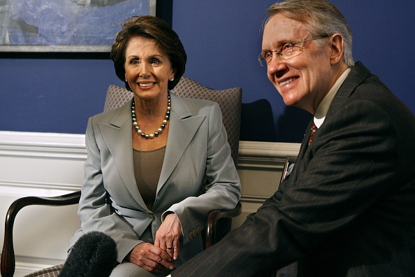 Speaker of the House「Pelosi And Reid Discuss Democratic Political Agenda」:写真・画像(15)[壁紙.com]