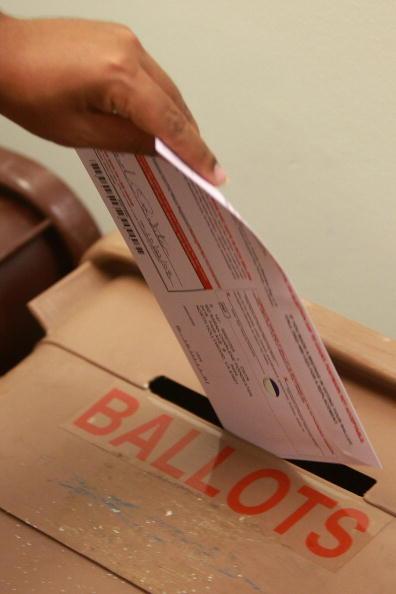 アメリカ合州国「California Citizens Take Part In Early Voting」:写真・画像(19)[壁紙.com]