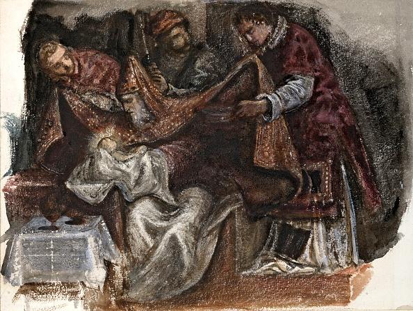 Circumcision「Study From Tintorettos Circumcision In The Scuola Grande Di San Rocco,」:写真・画像(16)[壁紙.com]