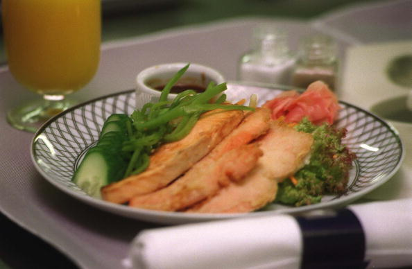Poached Food「Pacific Catering,United Airlines business class me」:写真・画像(6)[壁紙.com]