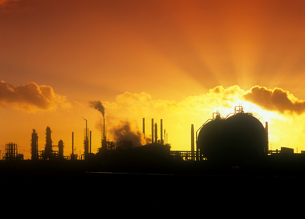 Greenhouse Gas「Pollution from petrochemical plant on Teeside, UK.」:写真・画像(4)[壁紙.com]