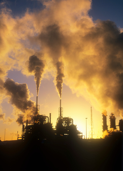 Greenhouse Gas「Pollution from petrochemical plant on Teeside, UK.」:写真・画像(14)[壁紙.com]