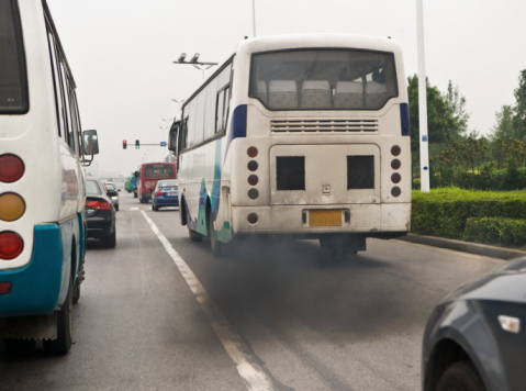 Smoke - Physical Structure「Pollution from vehicle smoky exhaust in China」:スマホ壁紙(7)