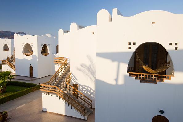Red Sea「The four star Dahab Hilton hotel resort in Dahab in the Sinai Desert in Egypt」:写真・画像(18)[壁紙.com]