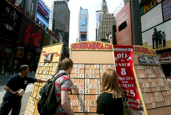 Challenge「New Yorkers Compete In Giant Sudoku Competition」:写真・画像(4)[壁紙.com]