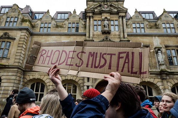 Statue「Students Call For Removal Of Cecil Rhodes Statue From Oriel College」:写真・画像(18)[壁紙.com]
