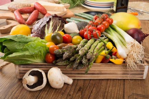 Low Carb Diet「Fresh Mediterranean vegetables」:スマホ壁紙(11)