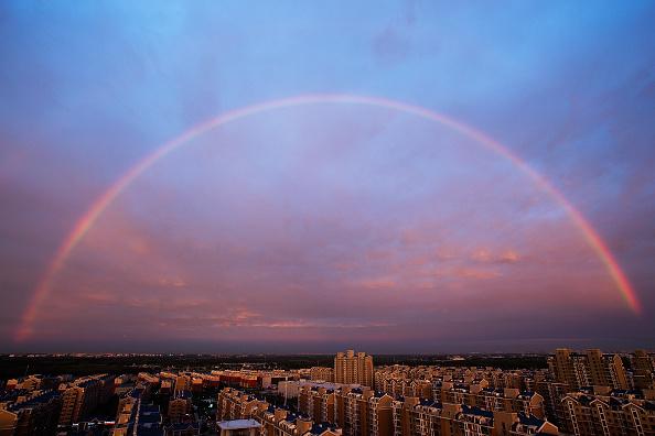 虹「Rainbow Appears In Beijing」:写真・画像(14)[壁紙.com]