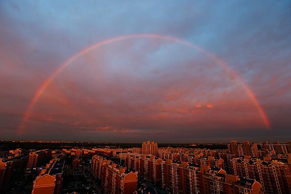 虹「Rainbow Appears In Beijing」:写真・画像(8)[壁紙.com]