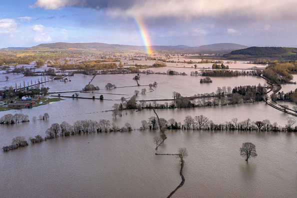 Extreme Weather「Storm Dennis Causes Flooding In The UK」:写真・画像(9)[壁紙.com]