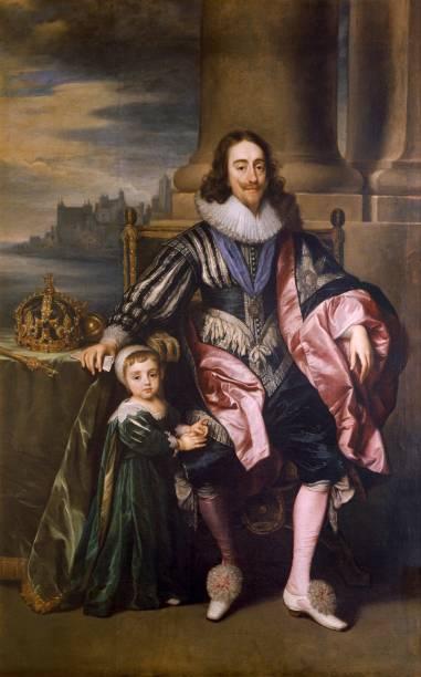 King Charles I And Prince Charles,:ニュース(壁紙.com)