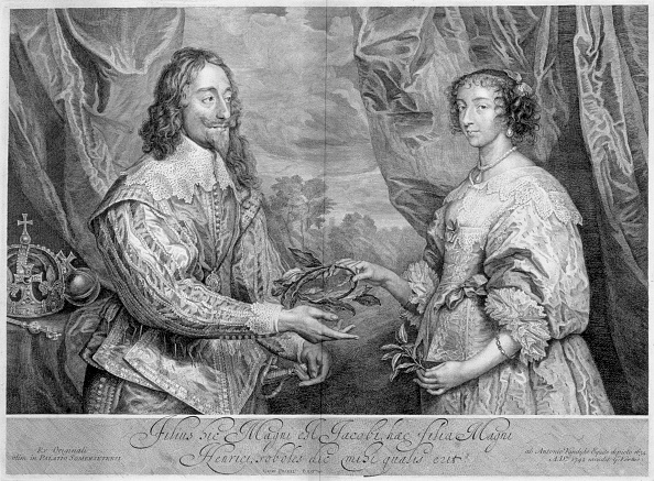 17th Century「King Charles I And Queen Henrietta Maria 1634 (1742)」:写真・画像(7)[壁紙.com]