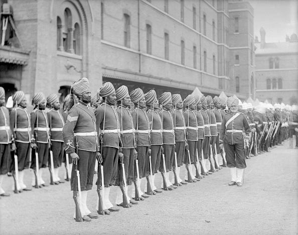 Reinhold Thiele「Sikh Soldiers」:写真・画像(9)[壁紙.com]