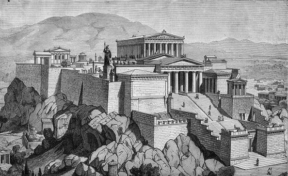 Athens - Greece「Acropolis」:写真・画像(6)[壁紙.com]
