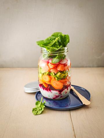 Carrot「Preserving jar of various vegetables with salmon」:スマホ壁紙(3)
