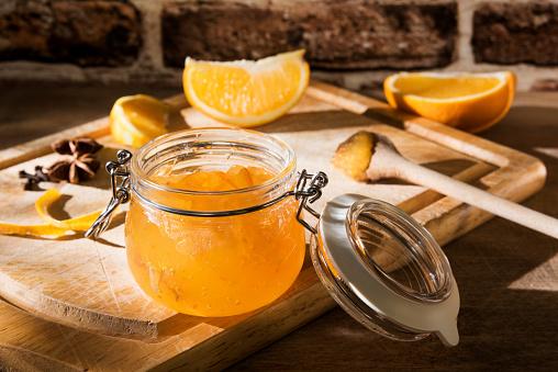 Clove - Spice「Preserving jar of homemade orange marmalade」:スマホ壁紙(19)