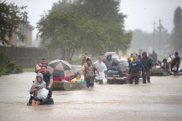 Damaged「Epic Flooding Inundates Houston After Hurricane Harvey」:写真・画像(11)[壁紙.com]