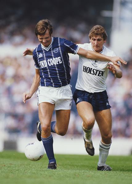 Club Soccer「Tottenham Hotspur v Leicester City First Divison 1984」:写真・画像(2)[壁紙.com]