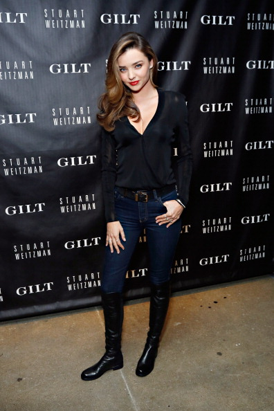 Miranda Kerr「Gilt And Stuart Weitzman Celebrate The 5050 Boot 20th Anniversary」:写真・画像(17)[壁紙.com]