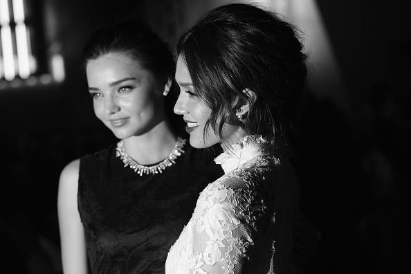 ミランダ・カー「H&M : Front Row  - Paris Fashion Week Womenswear Fall/Winter 2014-2015」:写真・画像(10)[壁紙.com]