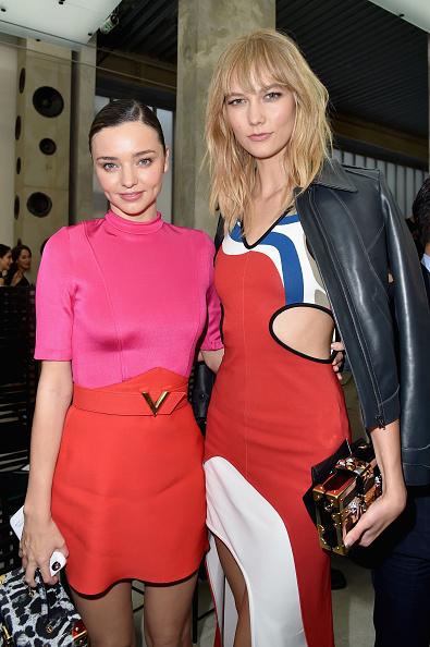 Miranda Kerr「Louis Vuitton : Front Row  - Paris Fashion Week Womenswear Spring/Summer 2017」:写真・画像(7)[壁紙.com]