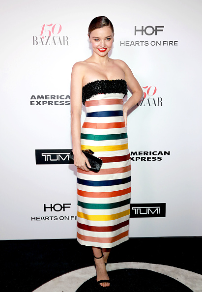 Miranda Kerr「Harper's BAZAAR celebrates 150 Most Fashionable Women at Sunset Tower presented by TUMI in partnership with American Express, La Perla and Hearts On Fire」:写真・画像(6)[壁紙.com]