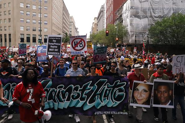 "Washington DC「Alt Right Holds ""Unite The Right"" Rally In Washington, Drawing Counterprotestors」:写真・画像(10)[壁紙.com]"