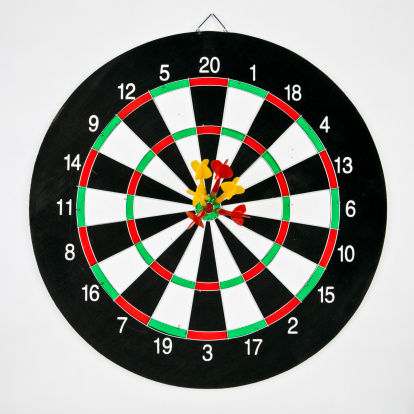 Sports Target「Darts target concept: win」:スマホ壁紙(19)