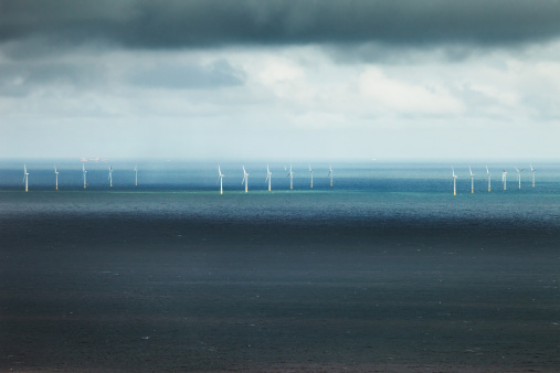 Irish Sea「North Hoyle Wind turbines」:スマホ壁紙(1)