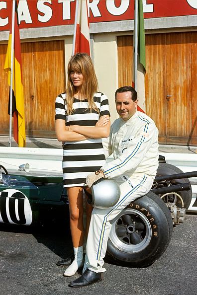 Grand Prix Motor Racing「Jack Brabham, Françoise Hardy, Grand Prix Of Italy」:写真・画像(4)[壁紙.com]