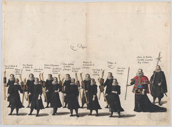 Ring Bearer「Plate 54: The Pages Marching In The Funeral Procession Of Archduke Albert Of Austria; From」:写真・画像(4)[壁紙.com]