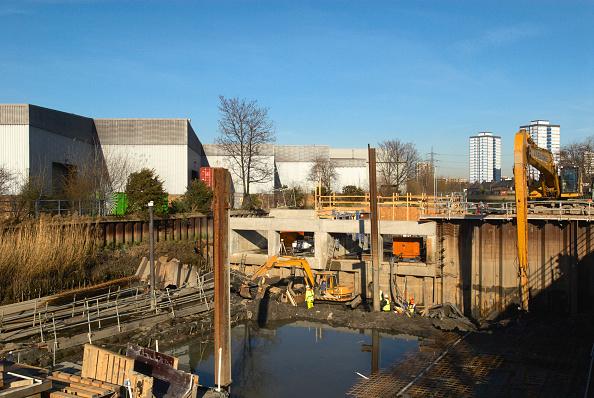 2012 Summer Olympics - London「Canal regeneration for access to Olympic Park, London, UK, 2008」:写真・画像(15)[壁紙.com]