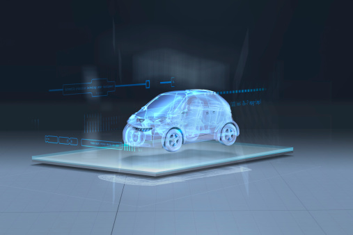 Motor Vehicle「Artists interpretation of augmented reality」:スマホ壁紙(4)