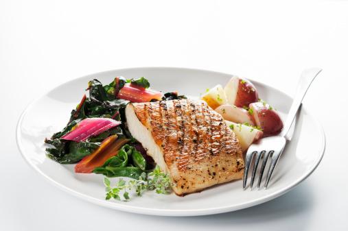 イルカ「ヘルシーな魚のディナー」:スマホ壁紙(14)