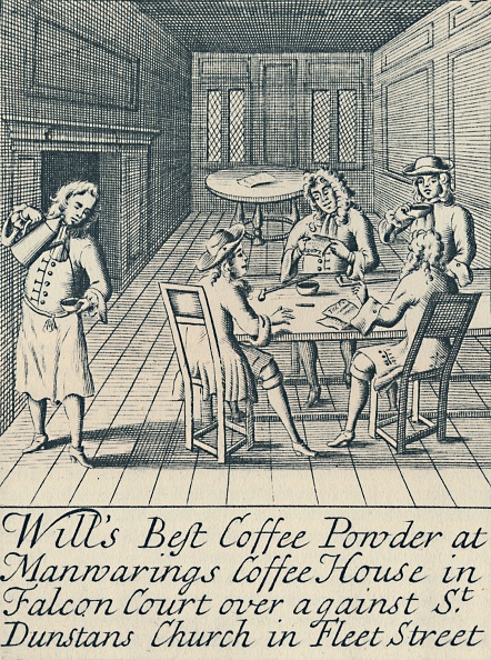 French Press「An Advertisement For Wills Coffee House C1700 (」:写真・画像(0)[壁紙.com]